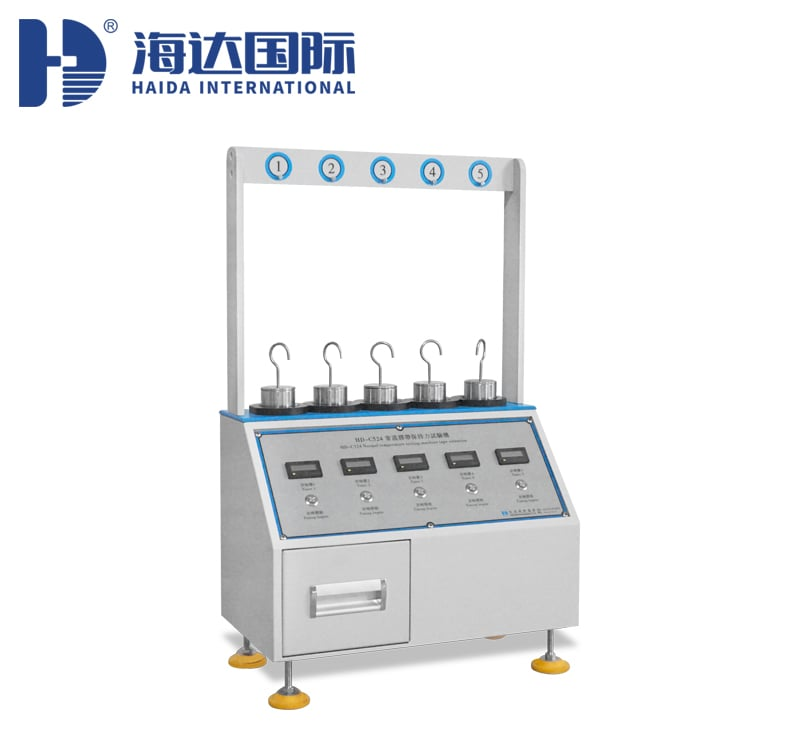 HD-C524-常温型胶带保持力试验机(5组)